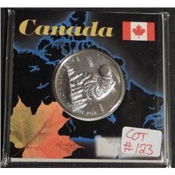 2006 Special Edition 1/2 oz Canada .9999 Fine $1 Silver Maple WOLF