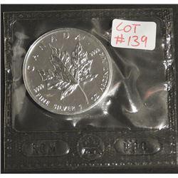 2003 1 oz Canada .9999 $5 Fine Silver Maple RCM SEALED