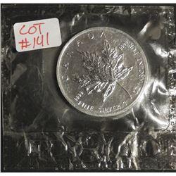 2005 1 oz Canada .9999 $5 Fine Silver Maple RCM SEALED