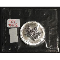 2007 1 oz Canada .9999 $5 Fine Silver Maple RCM SEALED