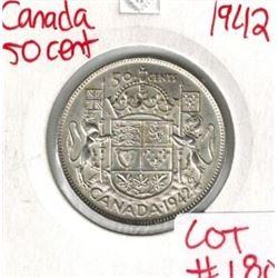 1942 Canada Silver 50 Cent