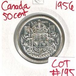 1956 Canada Silver 50 Cent