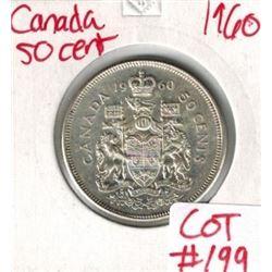 1960 Canada Silver 50 Cent