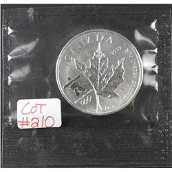 2008 Special Edition 1 oz Canada .9999 Fine $5 Silver Maple  Vancouver Olympics 2010