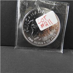 2011 Special Edition 1 oz Canada .9999 Fine $5 Silver Maple WILDLIFE SERIES MOOSE