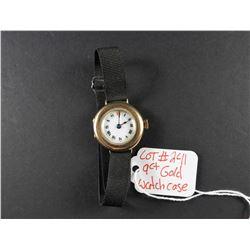 Antique 9 ct Gold Watch Case