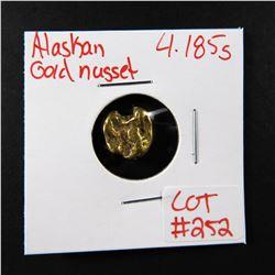 Natural Alaskan Gold Nugget 4.185 grams