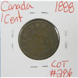 1888 Canadian Large 1 Cent