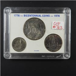 USA 1776-1976 Bicentennial Silver Coin Set
