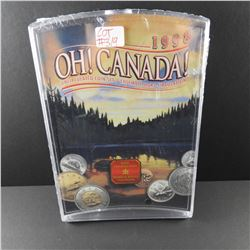 1998 Royal Canadian Mint OH CANADA Uncirculated Coin Set NEW IN PACKAGE