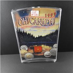 1999 Royal Canadian Mint OH CANADA Uncirculated Coin Set NEW IN PACKAGE