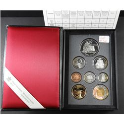 1997 Sterling Silver Proof Canadian Double Dollar Coin Set 8 coins total