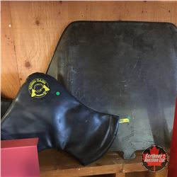 Snowmobiler Combo: Windshield & Handlebar Mitts