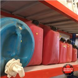 Variety Jerry Cans (5) & Water Jug (1)