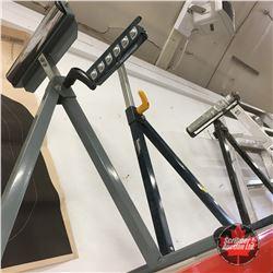 3 Adjustable Roller Stands