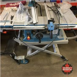 Makita Portable Table Saw & Stand (Box of Attachments)
