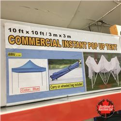 NEW SURPLUS: 10' x 10' Commercial Instant Pop Up Tent