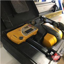 Spectra Precision Laser Transit Level/Tripod & Retractable Measure Stick