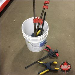 Pail Lot - Variety of Clamps