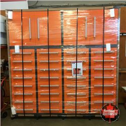 """NEW SURPLUS: 32 Drawers Heavy Duty 88"""" Tool Chest Cabinet"""