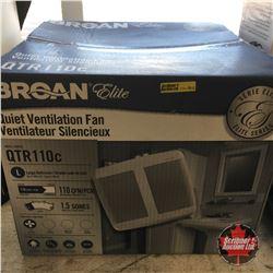 Broan Elite Quiet Ventilation Fan