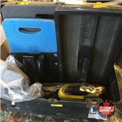 Tool Box - Ratchet Straps, Kneeling Pads, etc