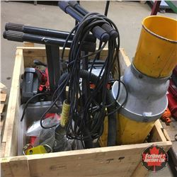 Crate Lot: Must See Variety !!! Industrial Items