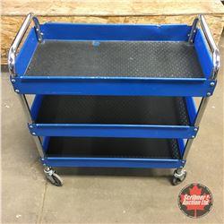 Blue Mechanics Cart