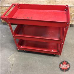 Red Mechanics Cart