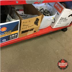 Group of 4 Box Lots (Incl: Hose Clamps, Valve Stems, etc)