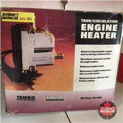 Temro Tank/Circulation Engine Heater