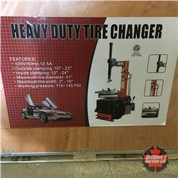 NEW SURPLUS: Heavy Duty Tire Changer
