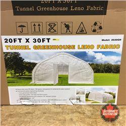NEW SURPLUS: 20' X 30' Twin Wall Green House