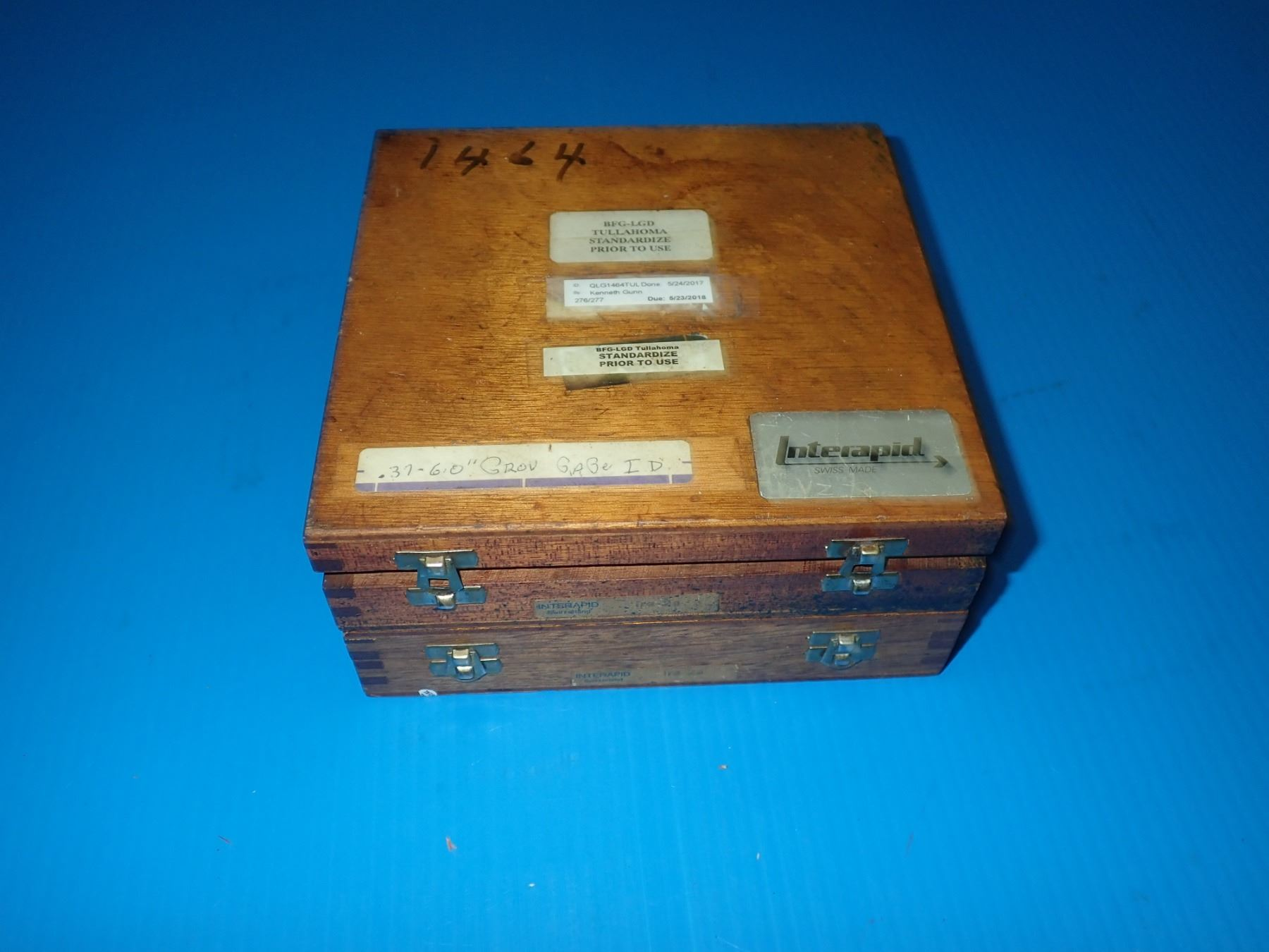 Interapid Ira-2a Groove Checking Comparator Gauge Partial Set *2 Total*
