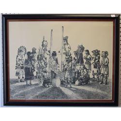 HOPI INDIAN PRINT (DAVID)