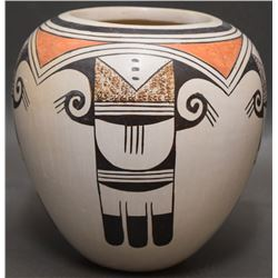 HOPI INDIAN POTTERY VASE (NAHA)