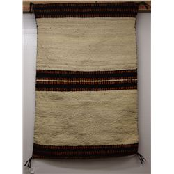 NAVAJO INDIAN DOUBLE SADDLE BLANKET