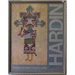 SANTA CLARA INDIAN PRINT (HELEN HARDIN)