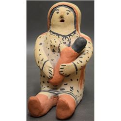 COCHITI INDIAN POTTERY STORY TELLER