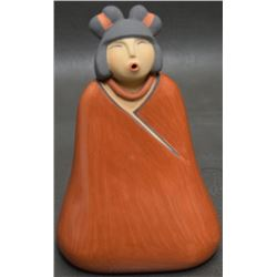JEMEZ INDIAN POTTERY FIGURE (TOYA)