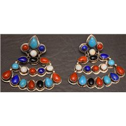 NAVAJO INDIAN EARRINGS (JACKSON)