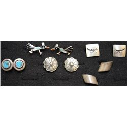 NAVAJO V CUFF LINKS