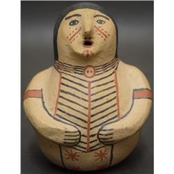 COCHITI INDIAN POTTERY FIGURE (HERRERA)