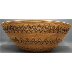 MONO INDIAN BASKETRY BOWL
