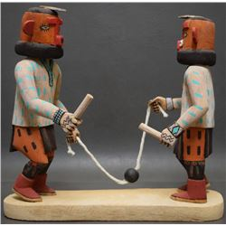 HOPI INDIAN KACHINA SCENE (ADAMS)