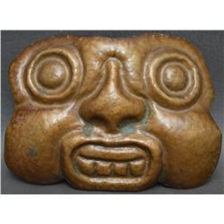 NORTHWEST COAST INDIAN COPPER MASK