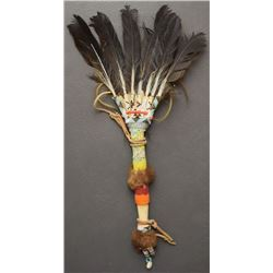 PLAINS INDIAN DANCE FAN