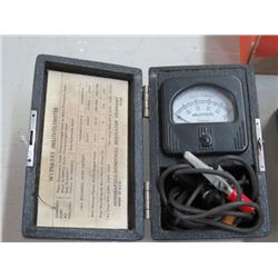 MILIVOLT TESTER W/INSTRUCTIONS