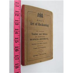 ART OF REASONING TEACHER & REFEREE DECIMAL/METRIC SYSTEM