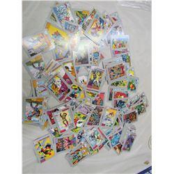 DC COMICS VILLAIN CARDS